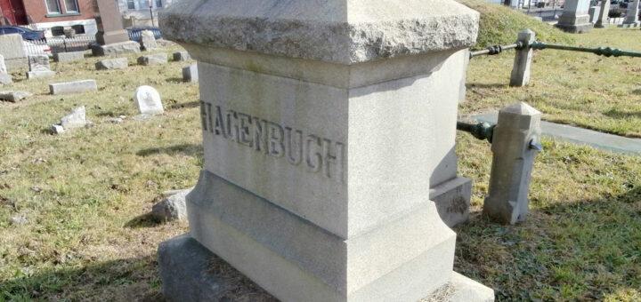 George Hagenbuch Gravestone Plot