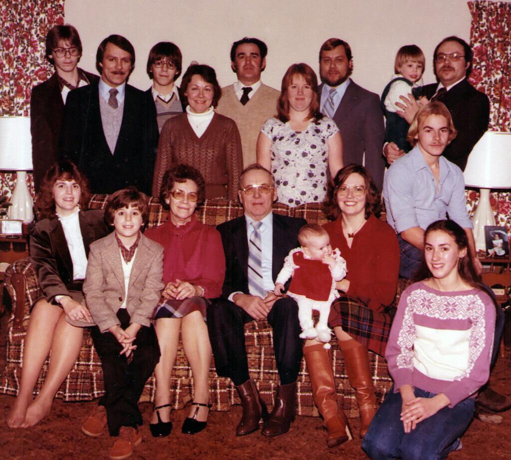 Homer Hagenbuch family, 1983