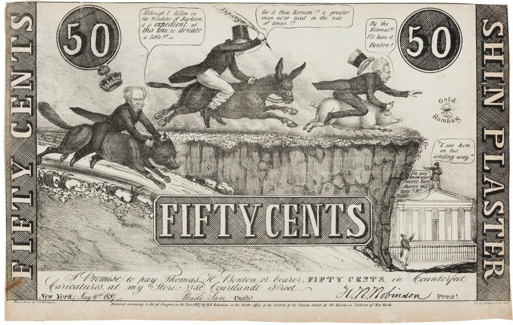 Shinplaster Parody 1837