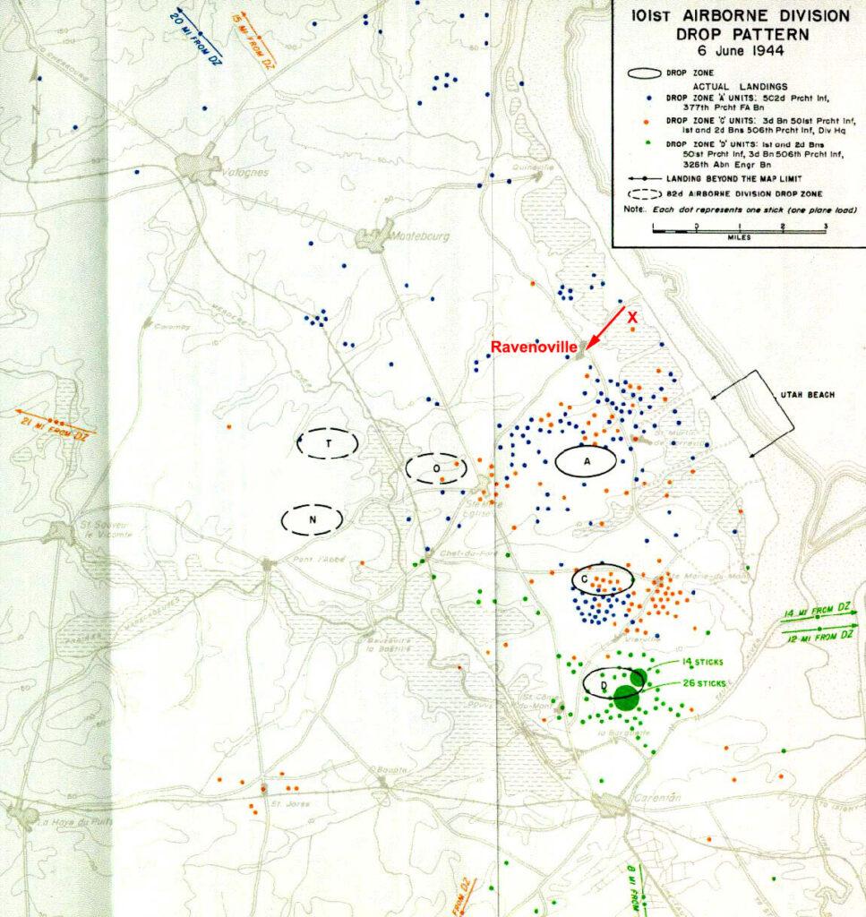 101st Airborne Drop D-Day
