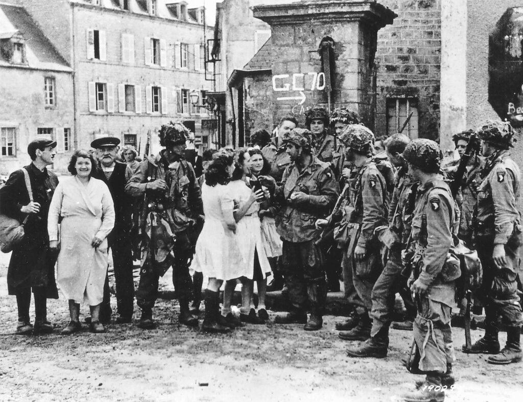 101st Airborne Company A Sainte-Marie-du-Mont