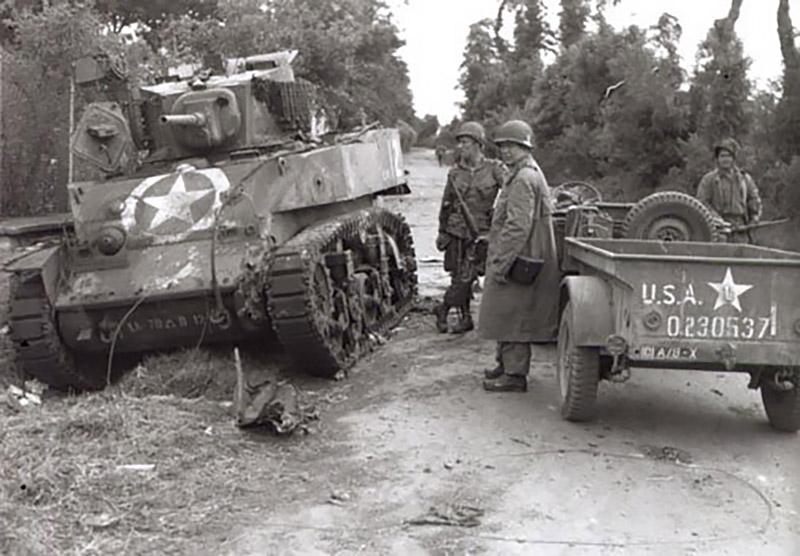 Dead Man's Corner Tank
