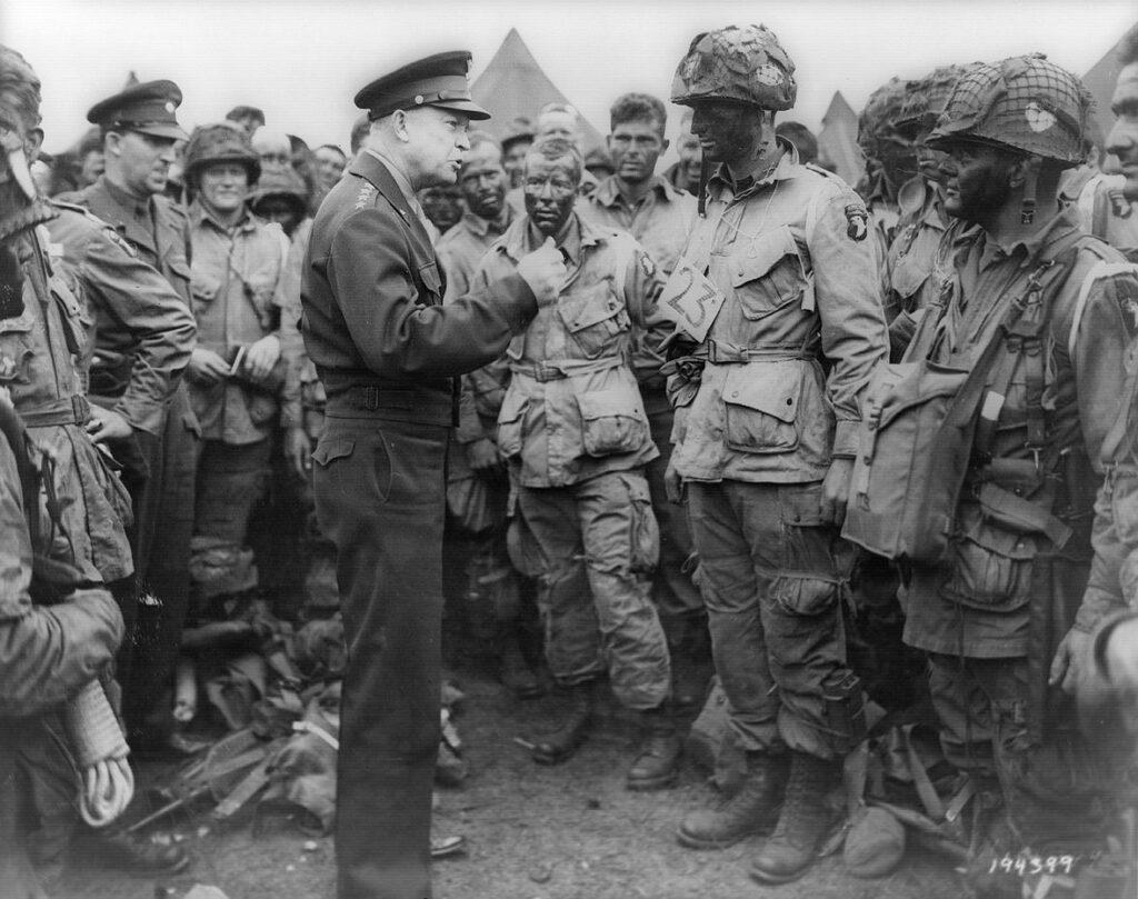 Eisenhower D-Day 101st Airborne