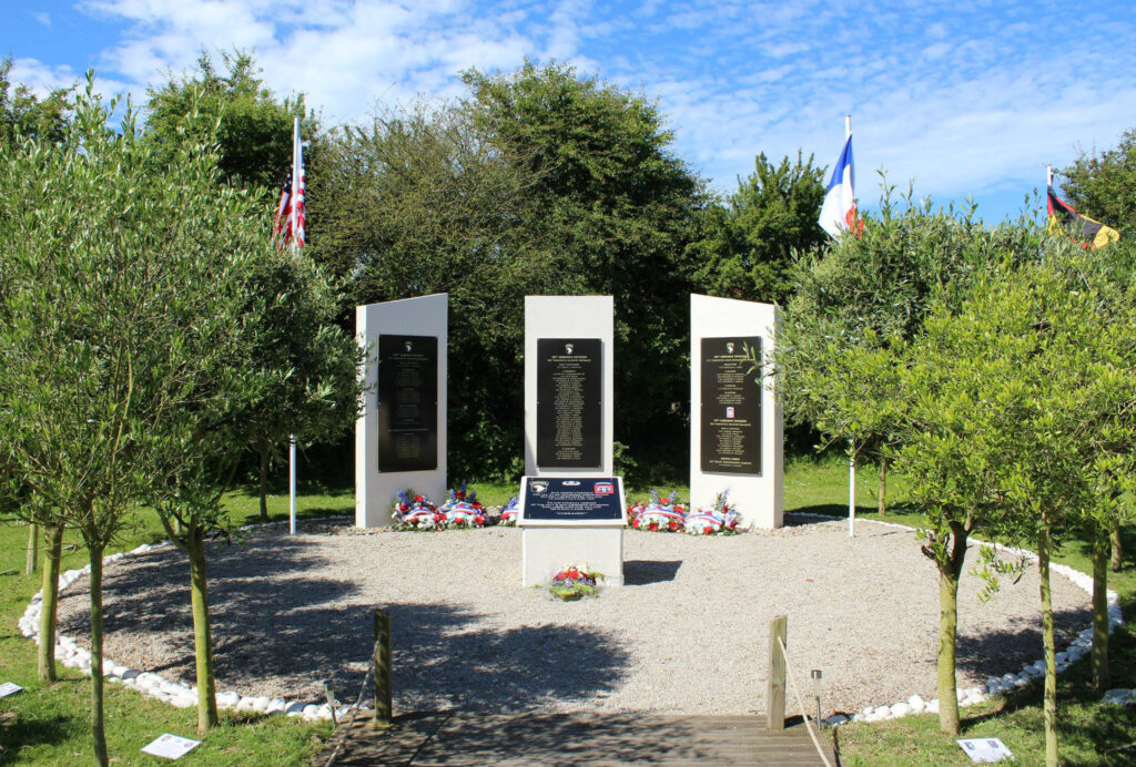 Eternal Heroes Memorial Ravenoville France