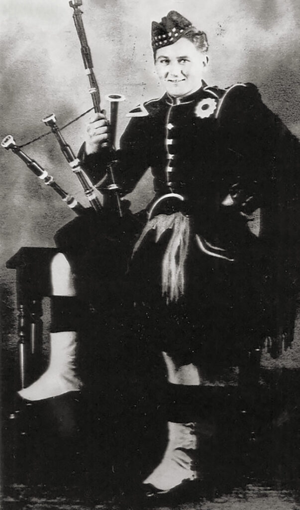 James H. Hagenbuch in Scotland