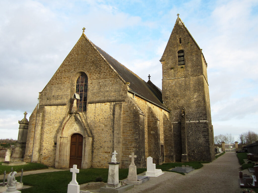 Saint-Gilles de Ravenoville Church