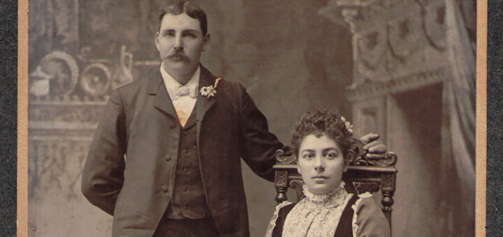 Warren and Louise (Ganiere) Heinly 1899