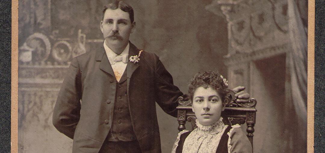Warren and Louise (Ganiere) Heinly 1899