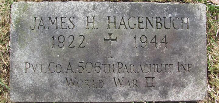 James H. Hagenbuch Gravestone