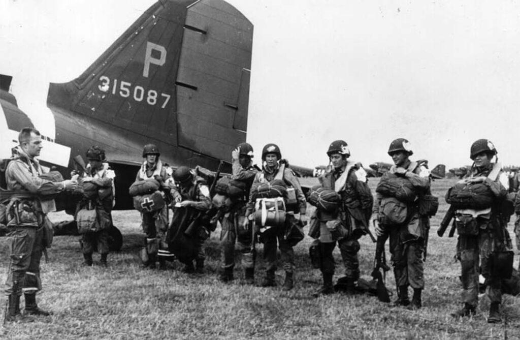 Paratroopers C-47