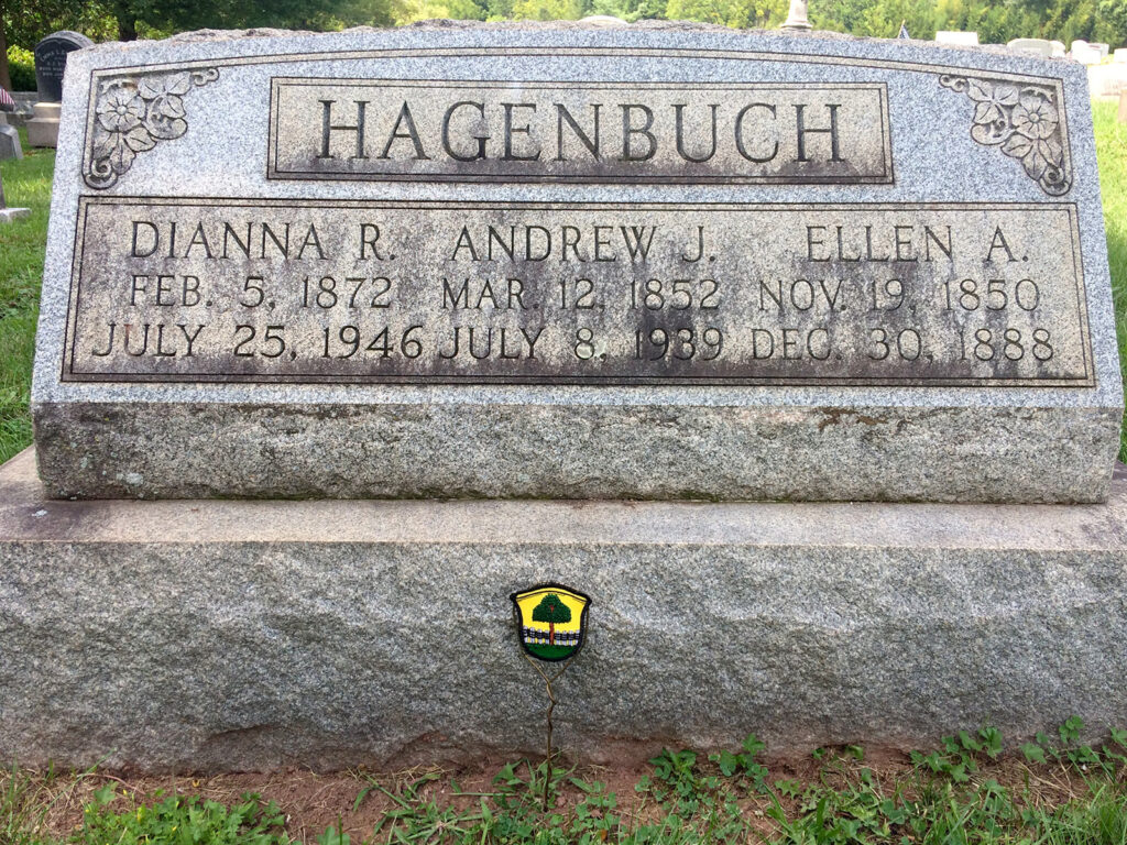 Andrew J. Hagenbuch, Patch Ornament