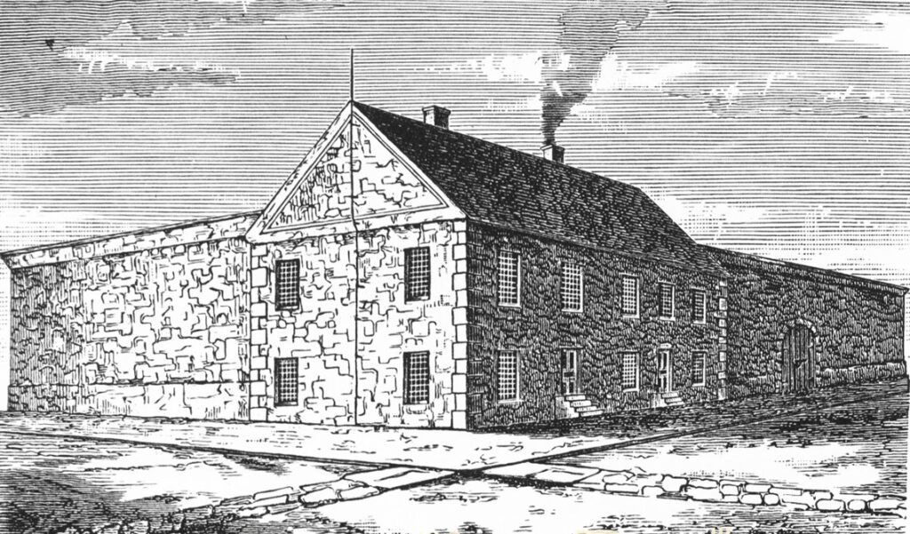 Reading Stone Jail 1770