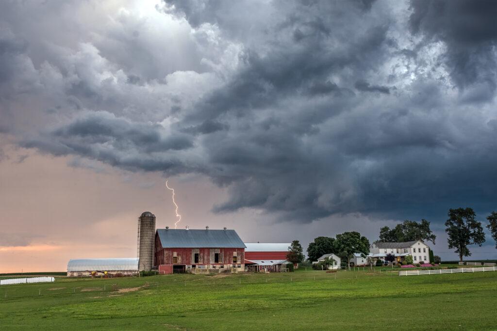 Clarence Hagenbuch Farm by Joel Appleman