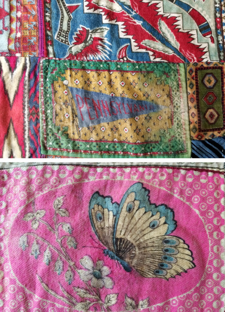 Flag Quilt Silks