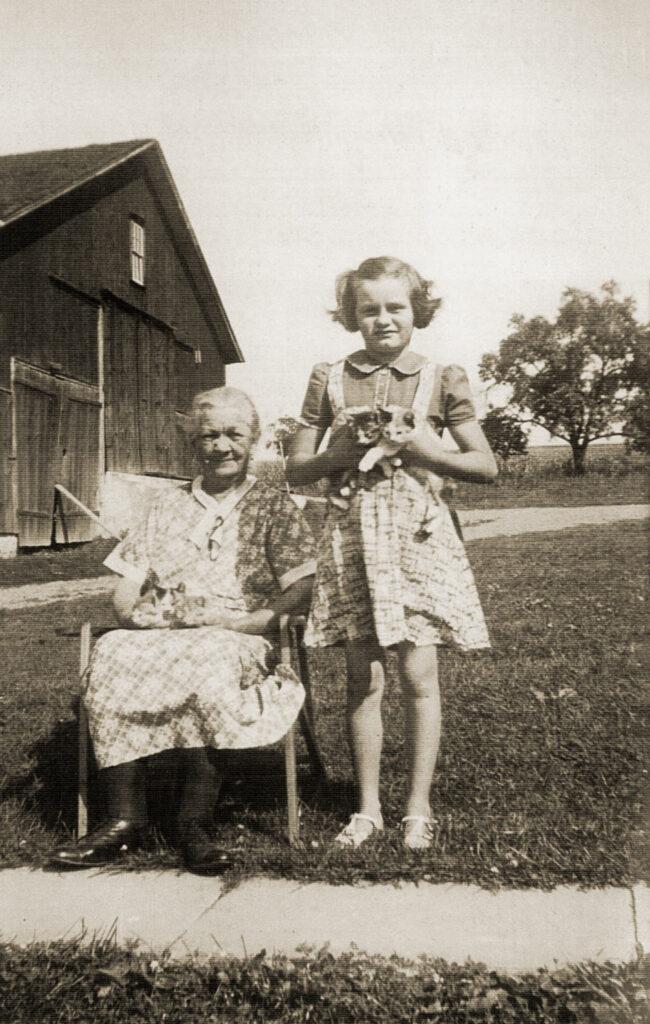 Mariah Madden and Mary Hagenbuch 1938