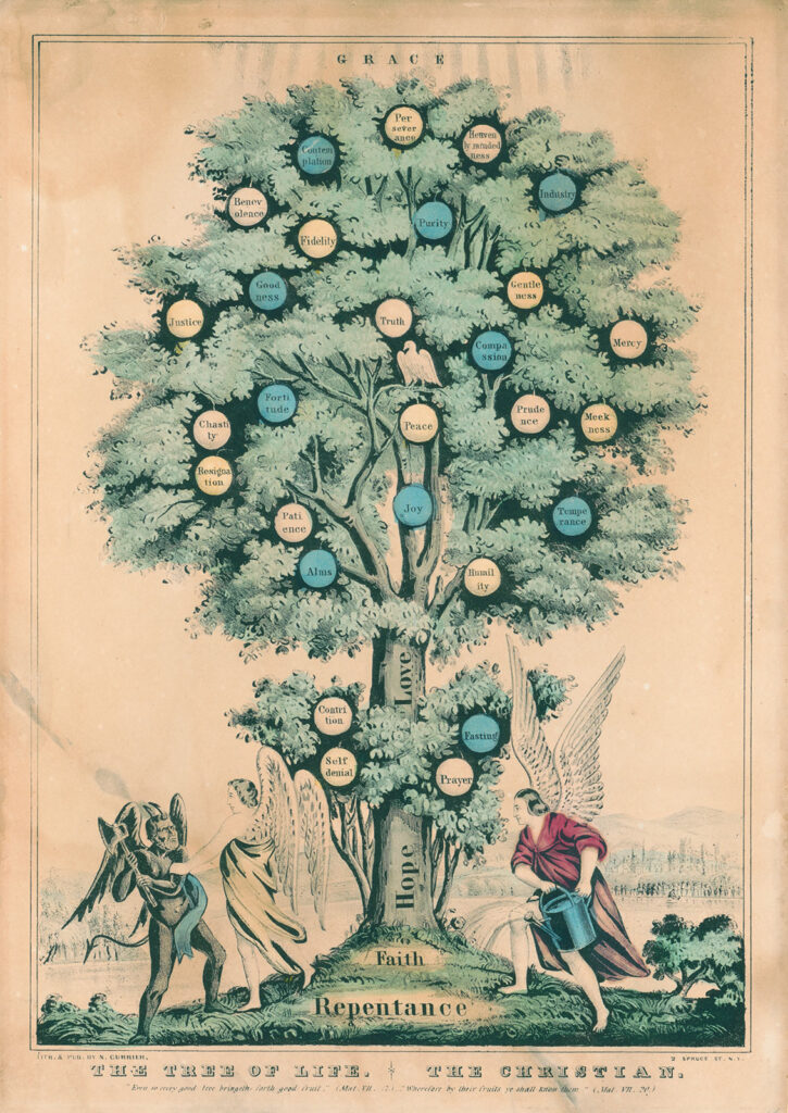 Tree of Life, The Christian, N. Currier