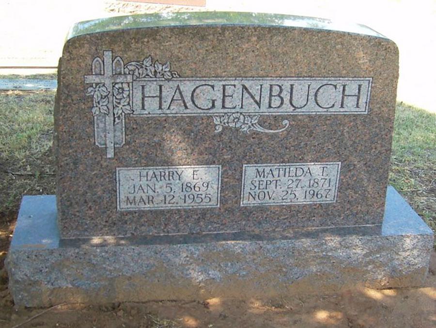 Harry E. Hagenbuch Gravestone