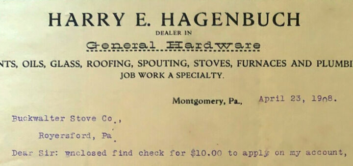 Harry E. Hagenbuch Remittance Detail