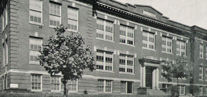 Milton High School 1926 Detail