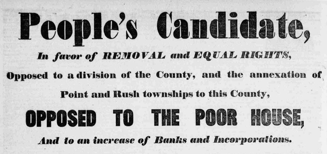 The Columbia County Democrat Headline Detail