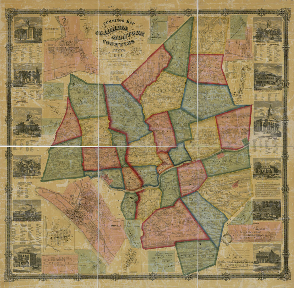 Columbia and Montour Counties 1860