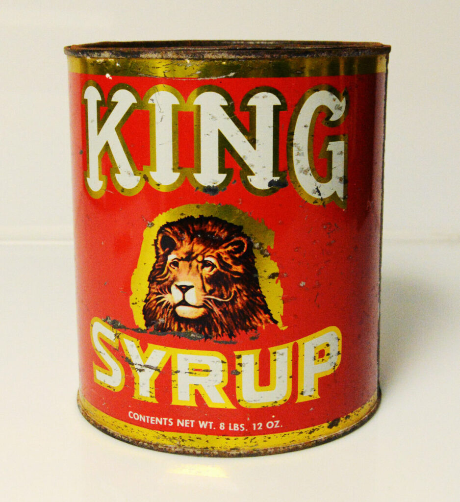King Syrup Can