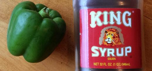 Mango Pepper King Syrup Molasses