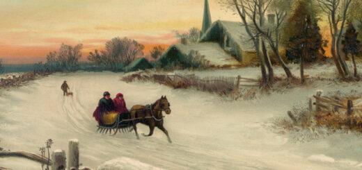 Christmas Morn 1880 Detail