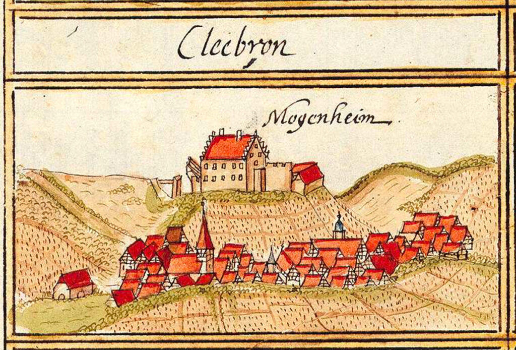 Cleebronn, Germany, 1684