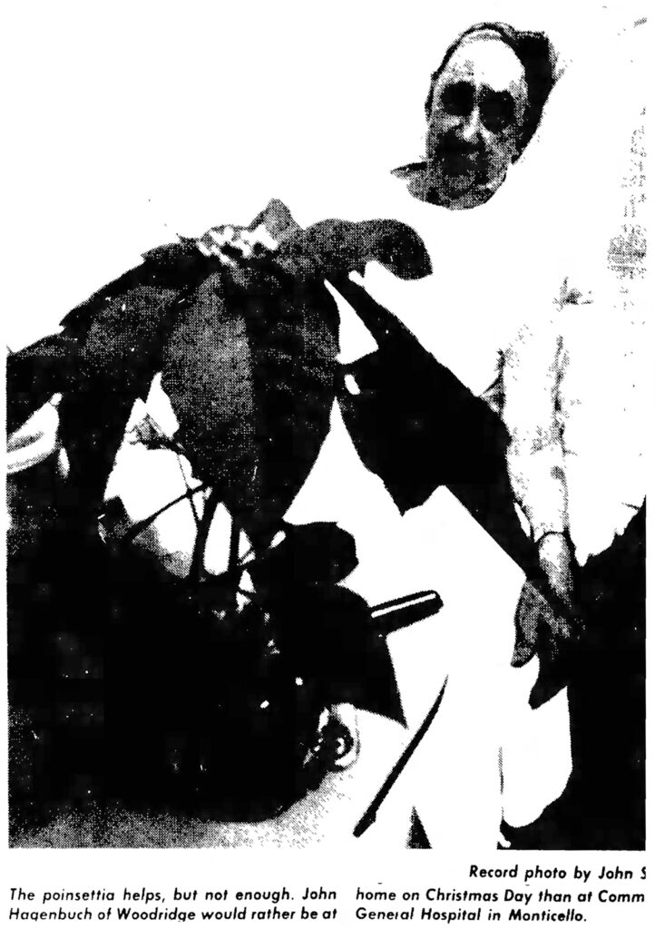 John W. Hagenbuch 1976