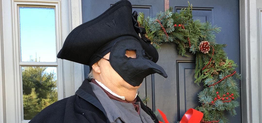 Plague Mask Detail