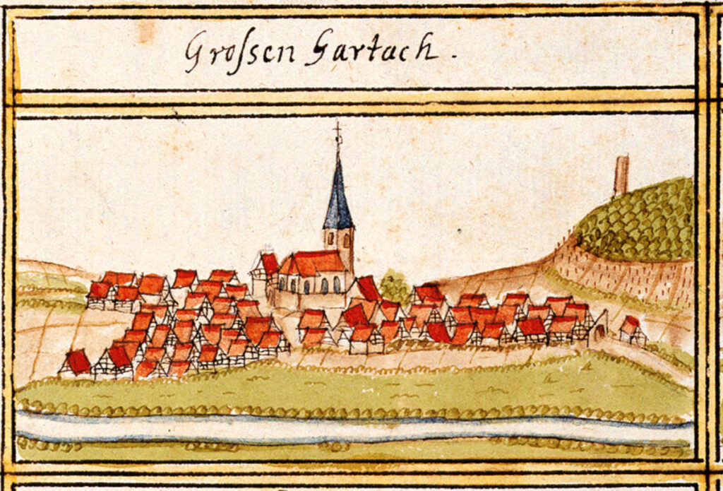 Grossgartach, Germany in 1684