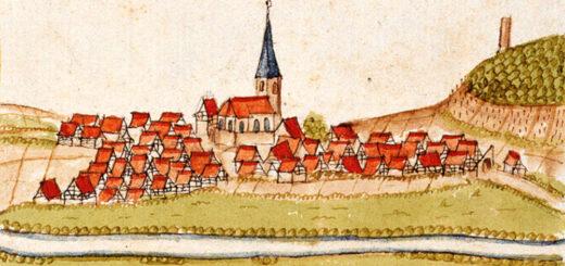 Grossgartach, Germany Illustration