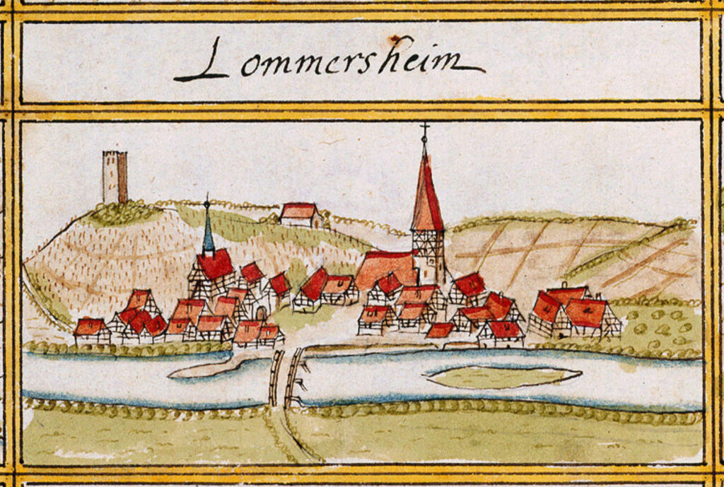 Lomersheim, Germany in 1684