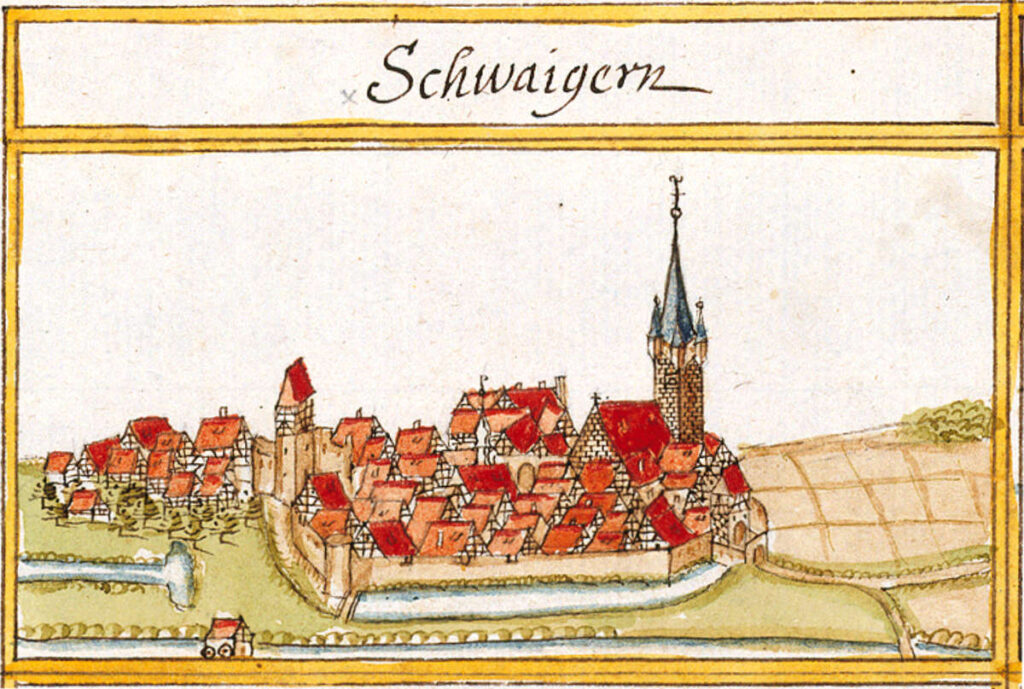 Schwaigern, Germany in 1684