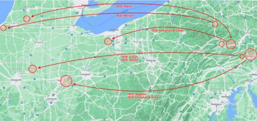 Pennsylvania, Ohio, Indiana, Michigan Detail