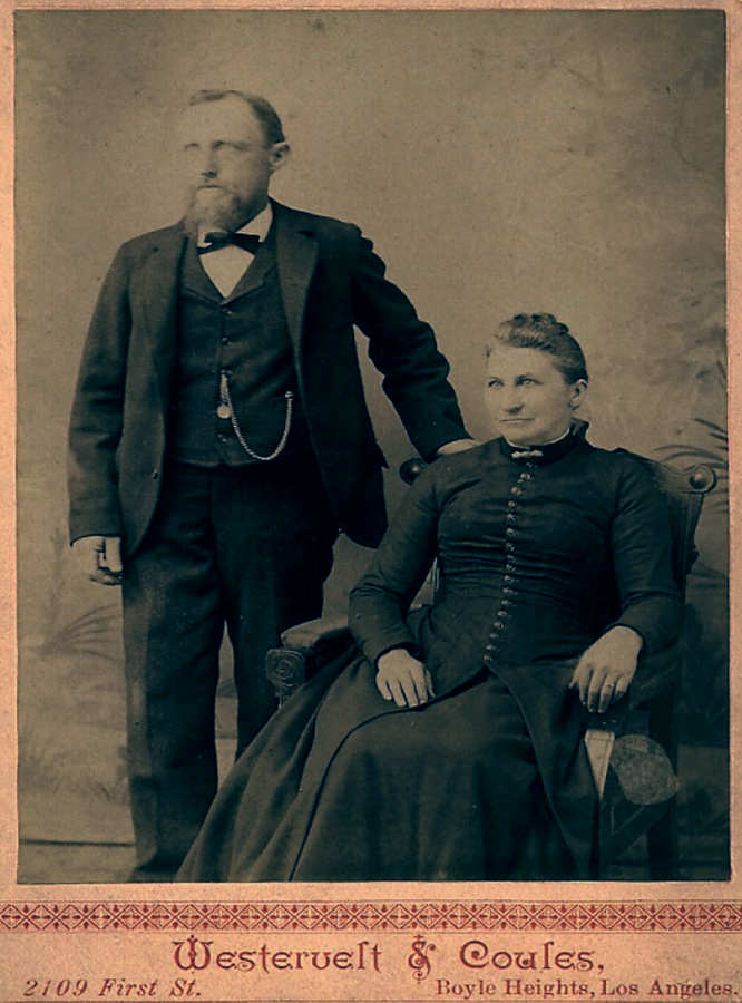 Jacob and Mary Ann Reichard 1895