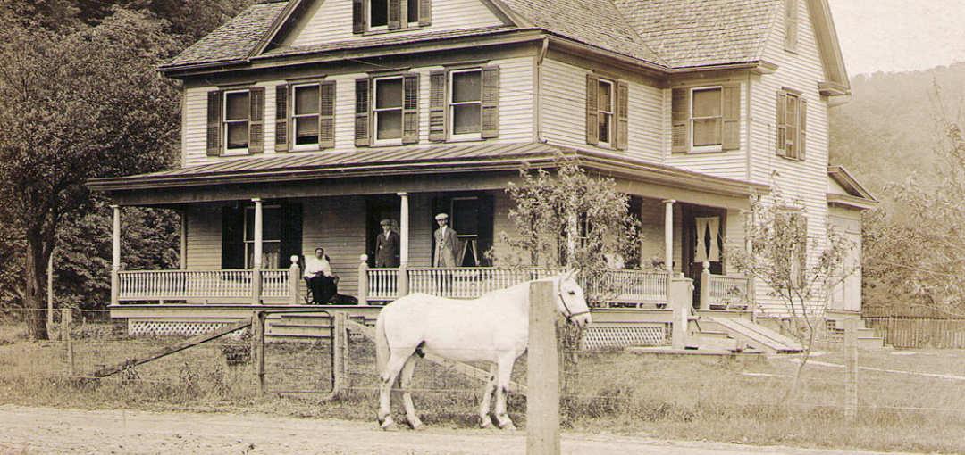 John and Emma Hagenbuch Reichard Farm 1914