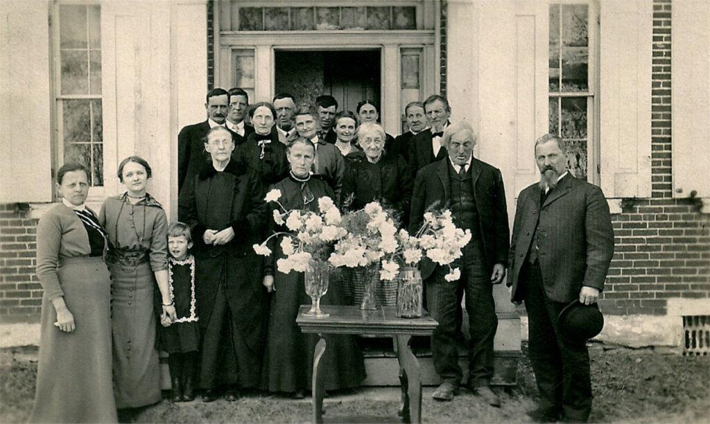 Sue Emmitt Reichard Funeral 1916