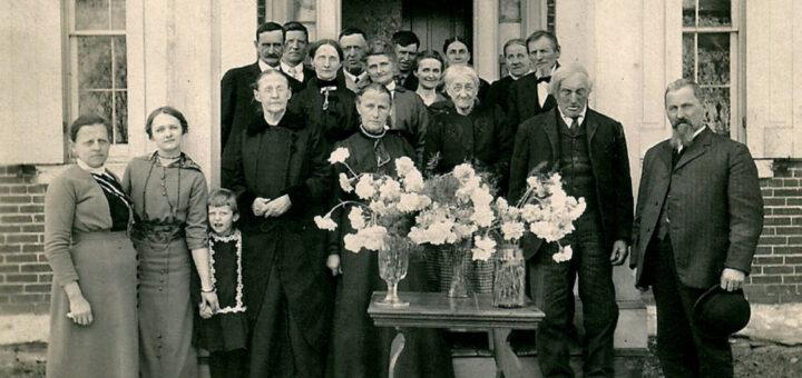 Sue Emmitt Reichard Funeral 1916 Detail