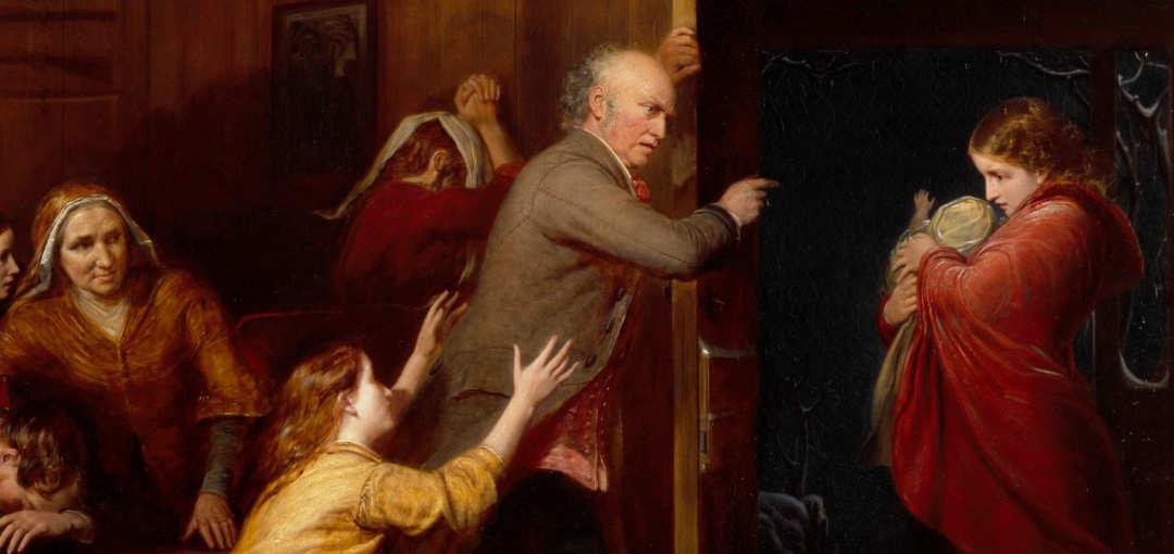 The Outcast, Richard Redgrave, 1851
