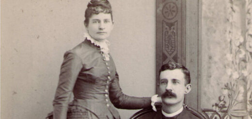 Edna Scales and Benjamin Fifield, 1888