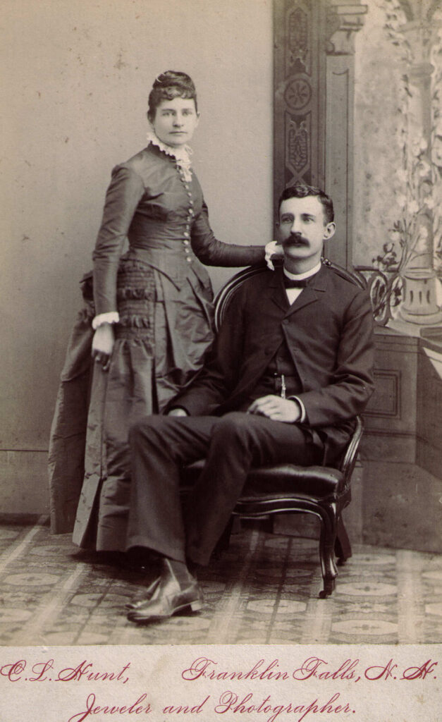 Edna Scales, Benjamin Fifield, 1888