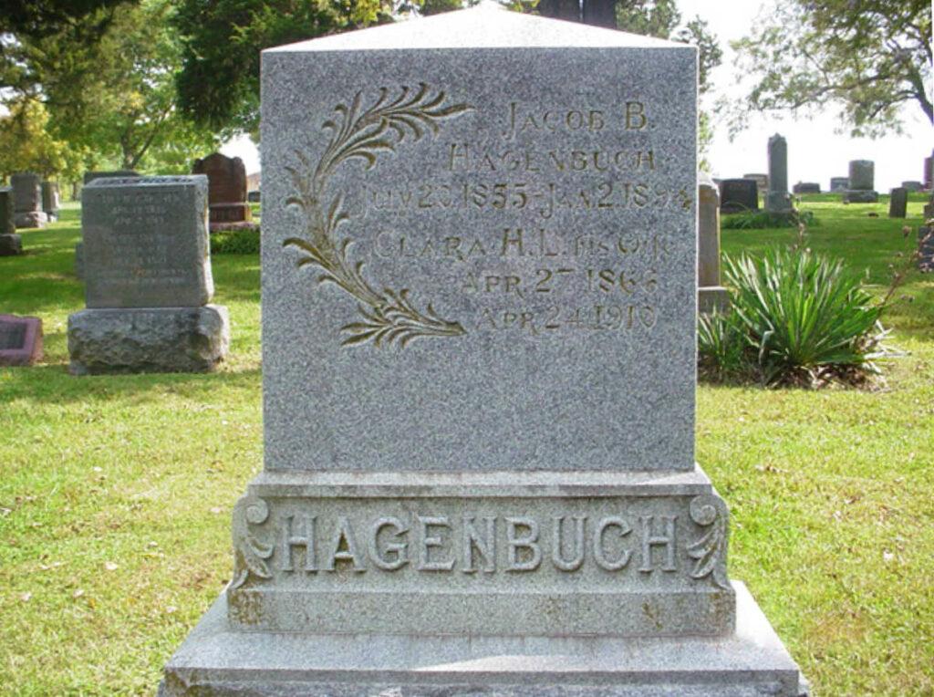 Jacob B. Hagenbuch Gravestone