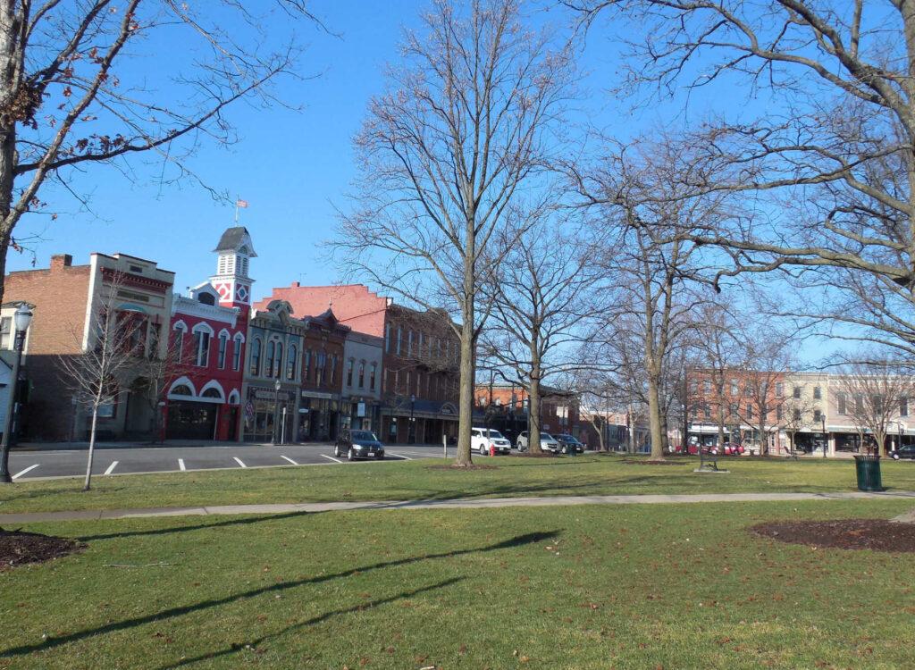 Medina Ohio Town Square