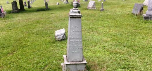Reuben Hagenbuch Gravestone Detail