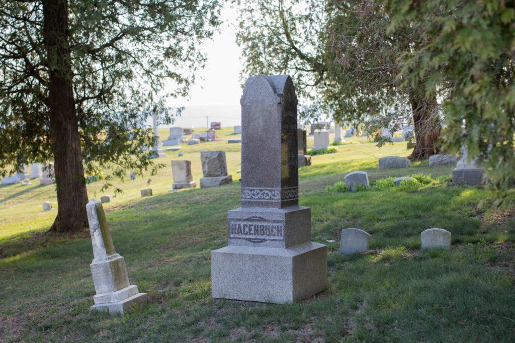 St. John's Cemetery Hagenbuch Stones