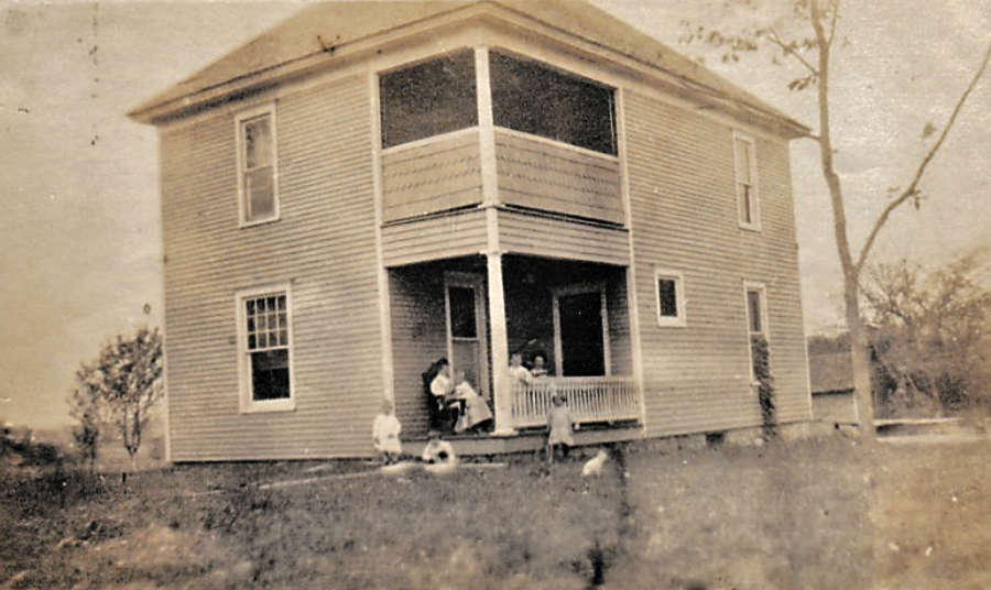 Andrew Pierce Hagenbuch First Home Built