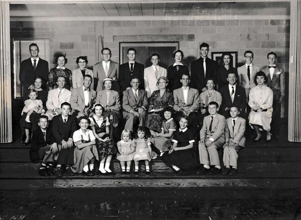 A. Pierce Hagenbuch family 1955