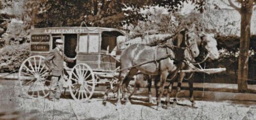 Andrew Pierce Hagenbuch Montour Dairy Wagon